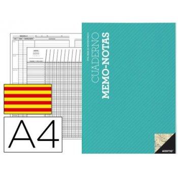 Bloc notas memo additio a4 evaluacion continua planificacion semanal actividades en catalan
