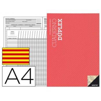 Bloc duplex additio a4 evaluacion continua y tutoria catalan
