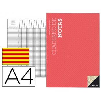 Bloc notas additio a4 plan de curso y evaluacion continua en catalan