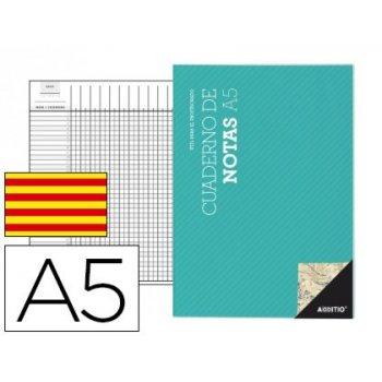 Bloc notas additio a5 plan de curso y evaluacion continua en catalan