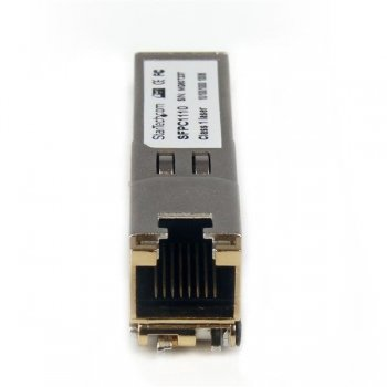 StarTech.com Módulo SFP Compatible con Cisco SFP-GE-T - Transceptor de Cobre RJ45 1000BASE-T - SFPC1110