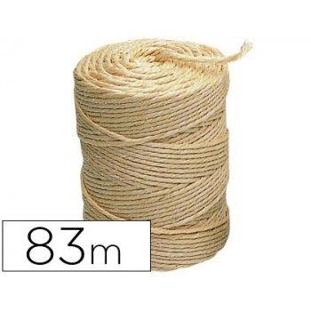 Cuerda sisal 3 cabos liderpapel rollo 1 2 kg