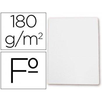 Subcarpeta cartulina gio folio blanca 180 g m2