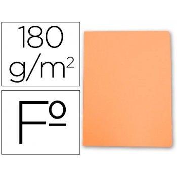 Subcarpeta cartulina gio folio naranja pastel 180 g m2