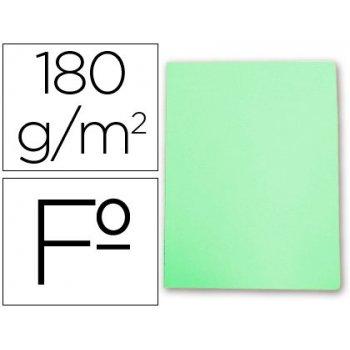 Subcarpeta cartulina gio folio verde pastel 180 g m2