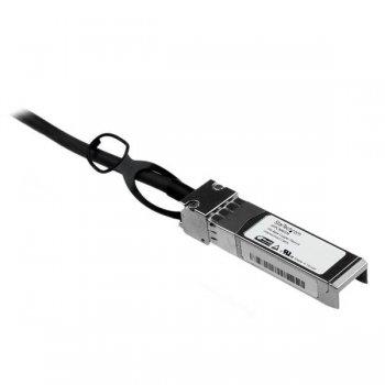 StarTech.com Cable 1m de Red Twinax Pasivo Cobre SFP+ 10 Gigabit Ethernet Direct Attach Conexión Directa 10GBASE-CU -