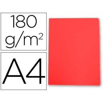 Subcarpeta cartulina gio din a4 rojo pastel 180 g m2