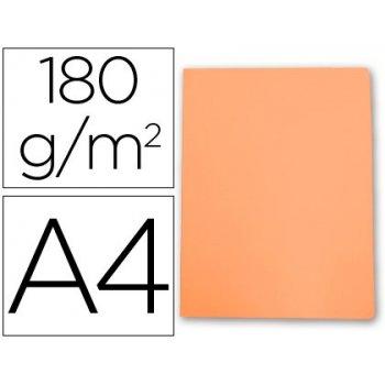 Subcarpeta cartulina gio din a4 naranja pastel 180 g m2