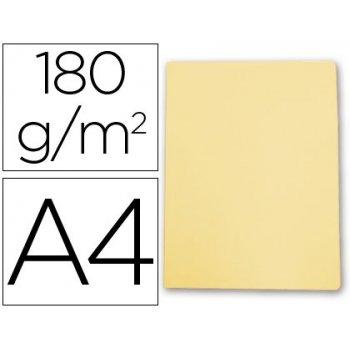 Subcarpeta cartulina gio din a4 amarillo pastel 180 g m2