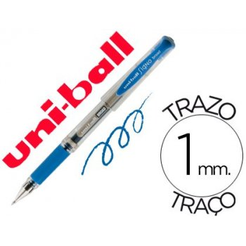 Boligrafo uni-ball um-153 signo broad azul 1 mm tinta gel