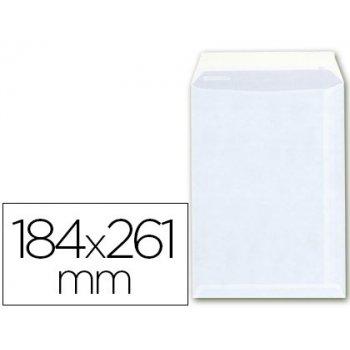 Sobre bolsa a-6 offset blanco 100g 184x261 mm con tira de silicona -caja 250