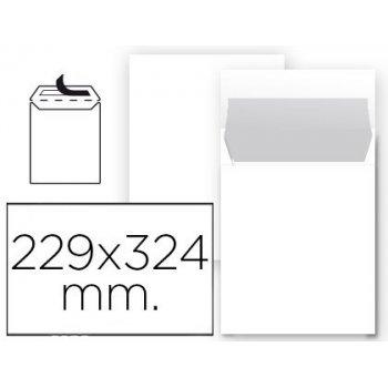 Sobre liderpapel bolsa n 8 blanco din 229x324 mm tira de silicona paquete de 25 unidades