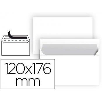 Sobre liderpapel n 9 blanco comercial normalizado 120x176 mm tira de silicona paquete de 25 unidades