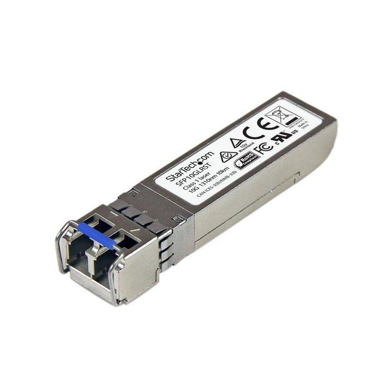 StarTech.com Módulo SFP+ Compatible con Cisco SFP-10G-LR-S - Transceptor de Fibra Óptica 10GBASE-LR - SFP10GLRST