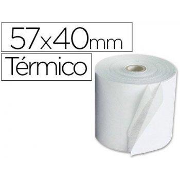 Rollo termico 57x40x11mm 58 grs