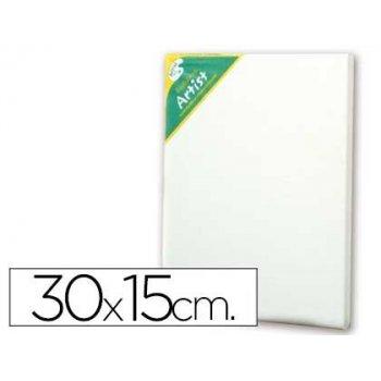 Bastidor artist lienzo grapado trasero algodon 100% 30x15 cm