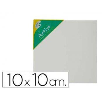 Bastidor artist lienzo grapado trasero algodon 100% 10x10 cm