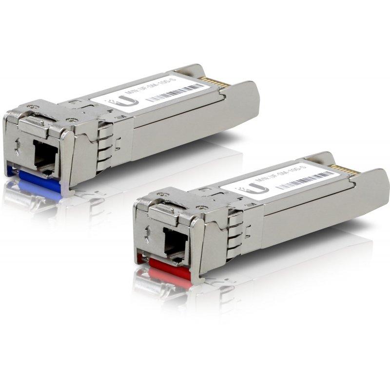 Ubiquiti Networks UF-SM-10G-S red modulo transceptor Fibra óptica 10000 Mbit s SFP+ 1330 nm