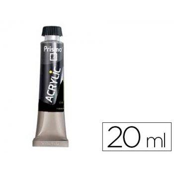 Pintura acrilica prismo negro carbon 537 tubo de 20 ml