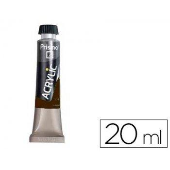 Pintura acrilica prismo tierra sombra tostada 490 tubo de 20 ml
