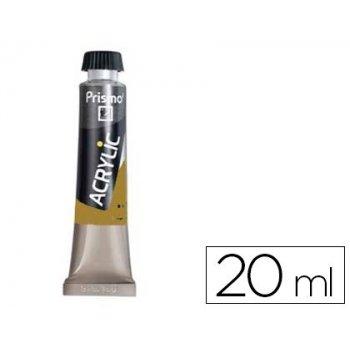 Pintura acrilica prismo ocre amarillo 131 tubo de 20 ml