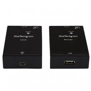StarTech.com Extensor Alargador de 1 Puerto USB 2.0 por Cable Cat5 o Cat6 - 50m
