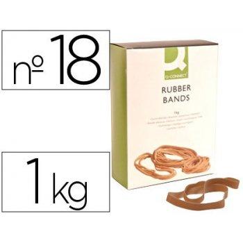 Bandas elasticas q-connect 1000 gr 180 x 1,6mm x16 mm n 18