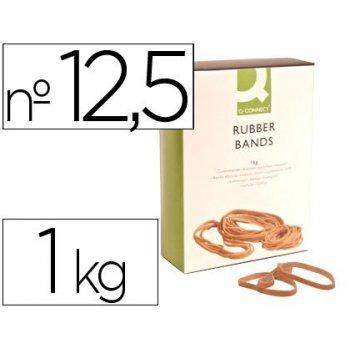 Bandas elasticas q-connect 1000 gr 125 x 9 mm numero 12,5