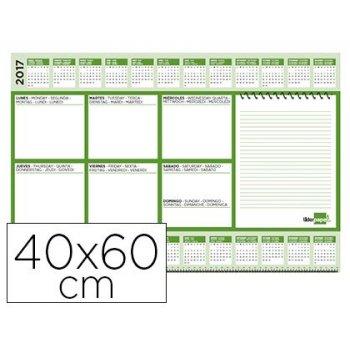 Planning sobremesa semanal liderpapel 40x60 cm 80 gr 60 hojas 2019-2020