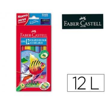 Lapices de colores faber-castell acuarelables c  12 surtidos