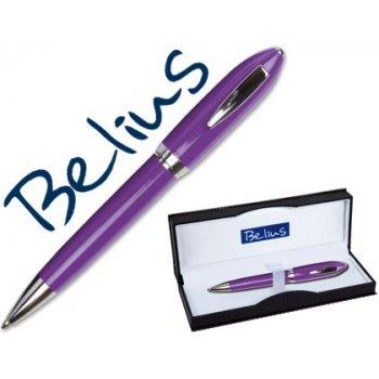 Boligrafo belius 2049 violeta malaga en estuche