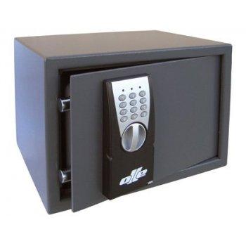 Caja fuerte olle sobrepone 100e combinacion electronica con llave de emergencia 250x350x265 mm