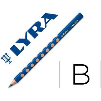 Lapices de grafito lyra groove triangular mina b de 4,25 mm