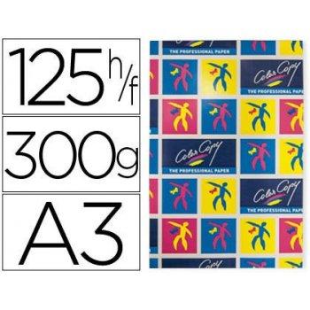 Papel fotocopiadora color copy mate din a3+ 300 gramos paquete 125 hojas