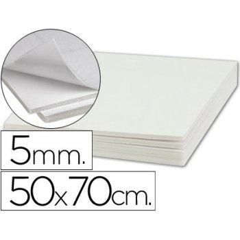 Carton pluma liderpapel adhesivo 1 cara 50x70 cm espesor 5 mm