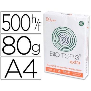 Papel fotocopiadora biotop extra ecologico din-a4 paquete de 500 hojas