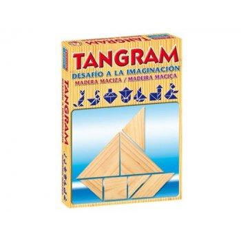 Juegos de mesa falomir tangram de madera