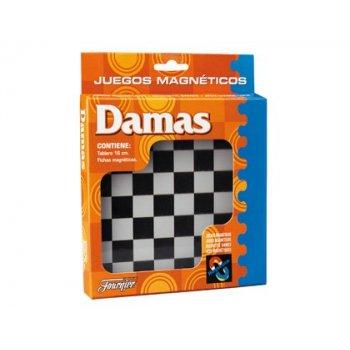 Juegos de mesa damas magnetico 20x16,1x2,4