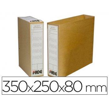 Bolsa archivo definitivo fade folio kraft bicolor