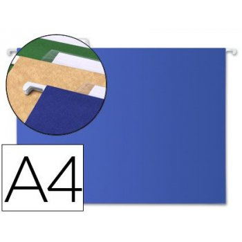 Carpeta colgante liderpapel a4 azul