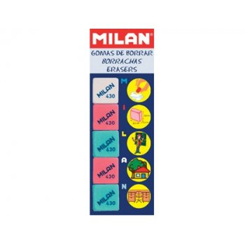 Goma milan 430-5 -blister 5