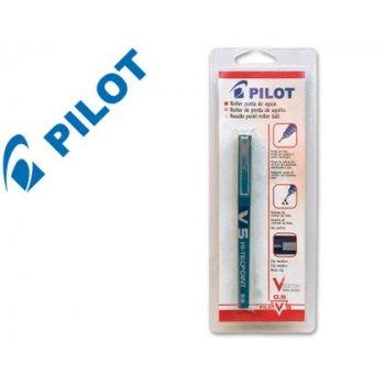 Rotulador pilot v-5 azul -blister 1