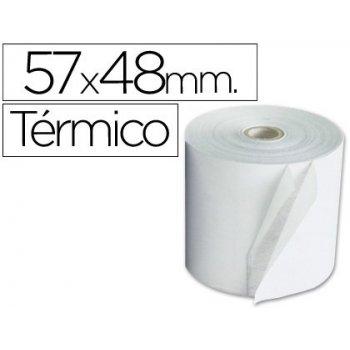 Rollo sumadora termico 57 mm ancho x 48 mm diametro