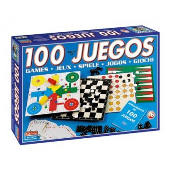 Juegos de mesa falomir -100 juegos reunidos