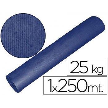 Papel kraft azul 1,00 mt x 250 mts especial para embalaje