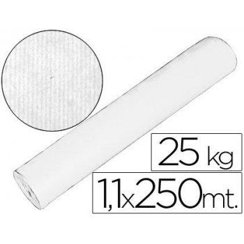 Papel kraft blanco 1,10 mt x 250 mts especial para embalaje