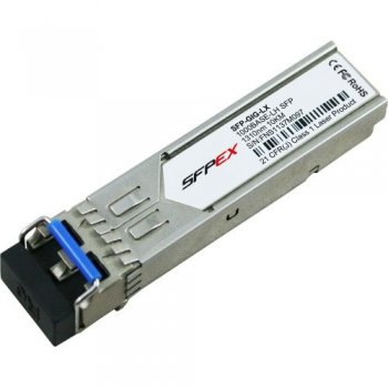 Alcatel-Lucent SFP-GIG-LX red modulo transceptor Fibra óptica 1000 Mbit s 1310 nm