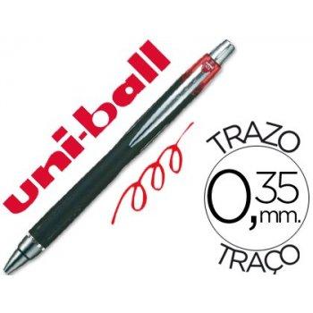 Boligrafo uni-ball jetstram sxn-210 retractil color rojo