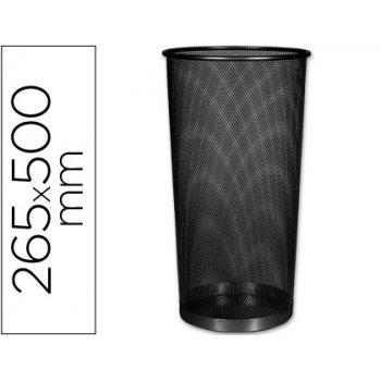 Paraguero metalico q-connect kf00829 rejilla negro -265 diametro x 500 mm