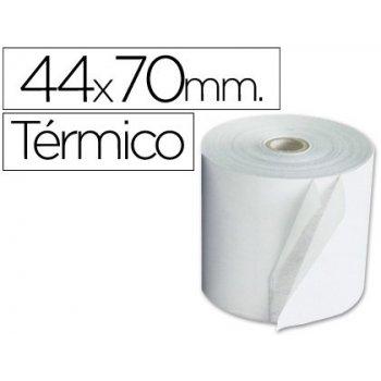 Rollo sumadora termico q-connect 44 mm ancho x 70 mm diametro